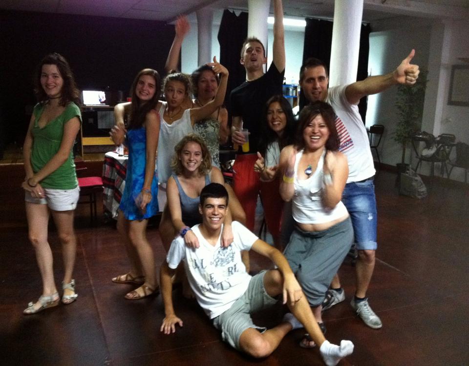 2-Grupo de Alumnos de Teatro